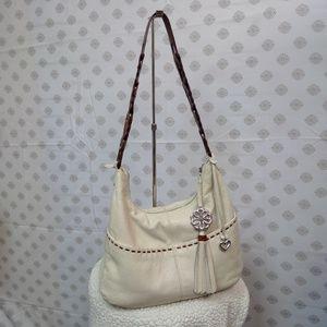 Soft Leather Brighton Shoulder Bag I Purse I EUC